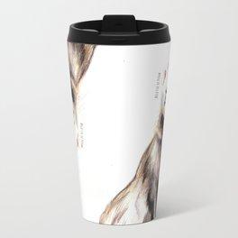 Steppen ferret (Mustela eversmanii) Travel Mug