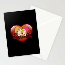 happy valentine's day II Stationery Cards