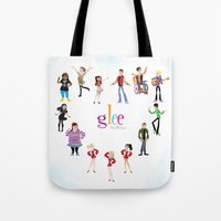 glee Tote Bags featuring Glee: Season 2 by Tunasammiches