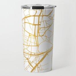 MALAGA SPAIN CITY STREET MAP ART Travel Mug