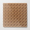 Cool Brown Coffee beans pattern by pldesign