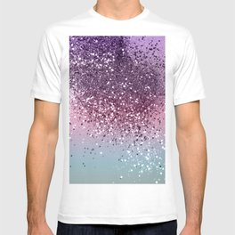 Unicorn Girls Glitter #6 #shiny #pastel #decor #art #society6 T-shirt