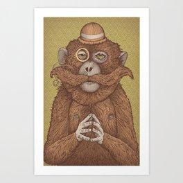 Great Uncle Reginald Art Print