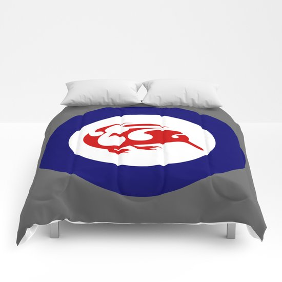 Kiwi Air Force Roundel Comforters