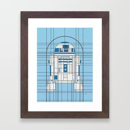 R2D2 Deco Droid Framed Art Print