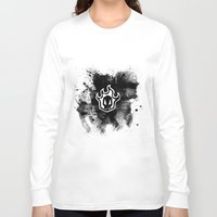 bleach Long Sleeve T-shirts featuring Bleach BW 5 by Bradley Bailey