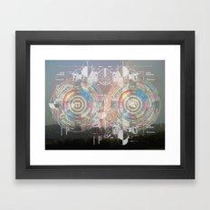 morning broadcast Framed Art Print