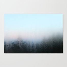 Misty Panes Canvas Print