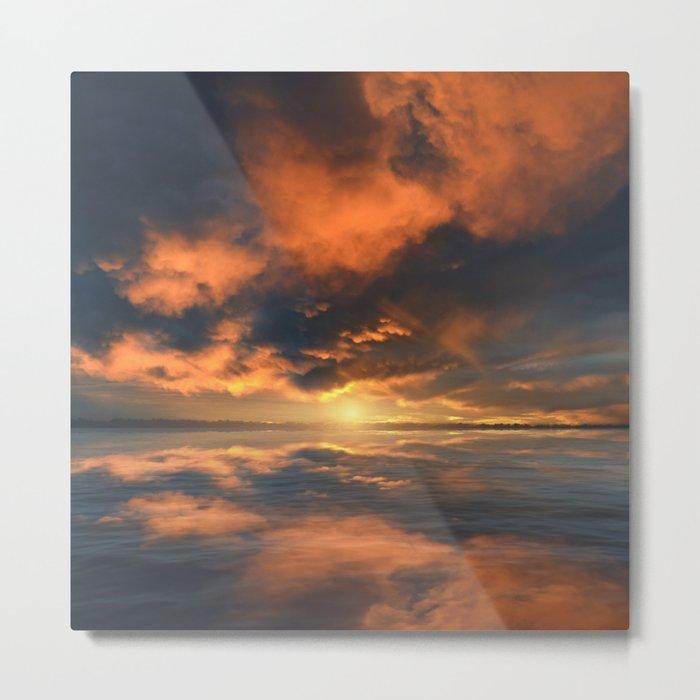 Magical Sunset II Metal Print