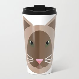 Cat&Flowers Travel Mug