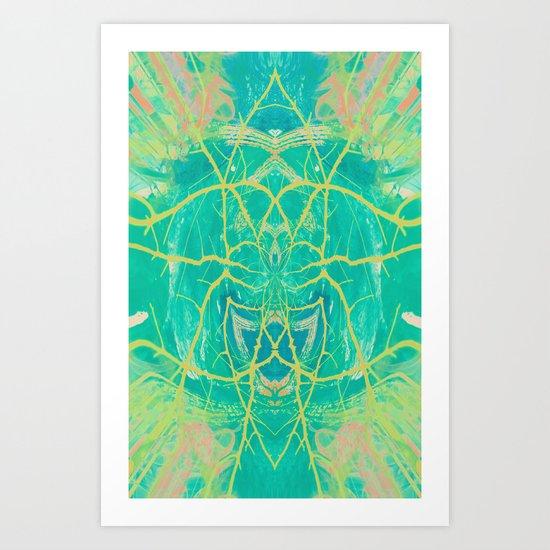 Twice Art Print