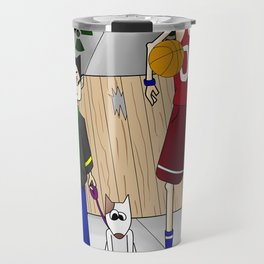 Sparky and Dunlap Travel Mug