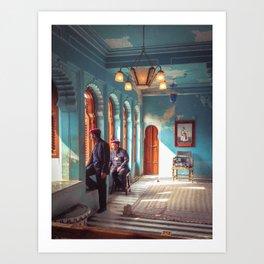 Indian Palace Gaurds Art Print