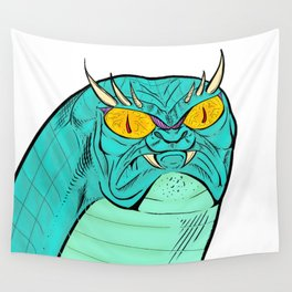 A Free Snake Wall Tapestry