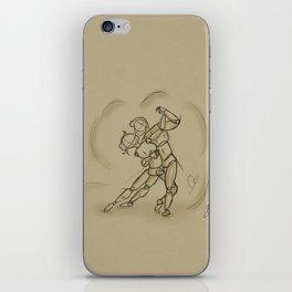 Art of Dancing iPhone Skin