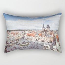 Old Town Square in Prague Rectangular Pillow