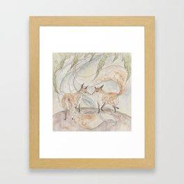 Fox [[ 2 ]] Framed Art Print