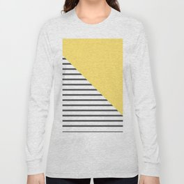 dismantled pattern Long Sleeve T-shirt