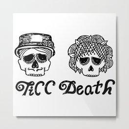 Till Death Metal Print