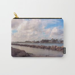 Winter Afternoon, Jupiter Inlet Lighthouse Carry-All Pouch