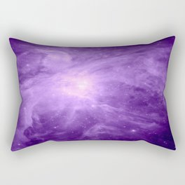 Orion NebuLA Purple Rectangular Pillow