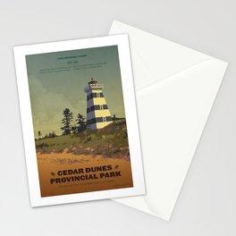 Cedar Dunes Provincial Park Stationery Cards