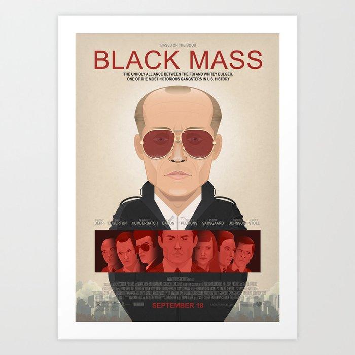Black Mass - Alternative Movie Poster Art Print
