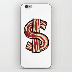 Bacon Bucks iPhone & iPod Skin
