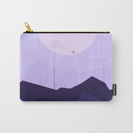 Abstract sunset landscape Carry-All Pouch