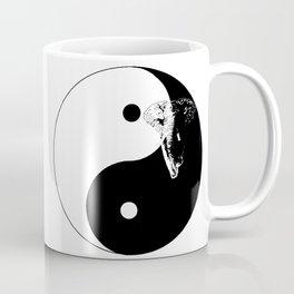 The YIN YANG ELEFANT - LIFE CURRENT series... Coffee Mug