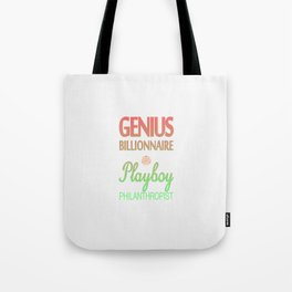 GENIUS TONY Tote Bag