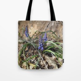 Happy Hyacinth Tote Bag