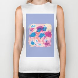 Colours of summer 1 -Abstract pattern Biker Tank