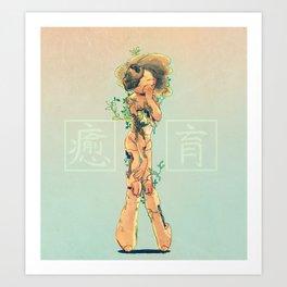 Heal and Flourish  Art Print