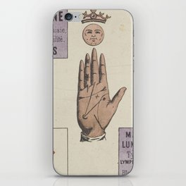 Vintage French Moon Tarot Card iPhone Skin