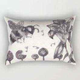 Bee Happy 3 Rectangular Pillow