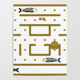 Pac-Fish Poster