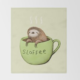 Sloffee Throw Blanket