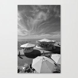 Summer in Brighton Canvas Print