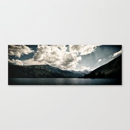 Lower Twin Lake (Color) Canvas Print
