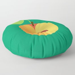 Fruit: Apricot Floor Pillow