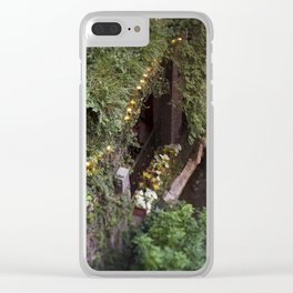 Down at the Riverwalk Clear iPhone Case