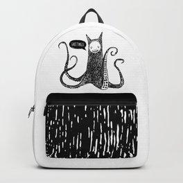 Greetings from the kraken cat Backpack