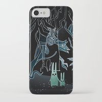 scary iPhone & iPod Cases featuring scary place     by Bunny Noir