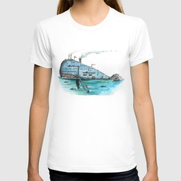 Steamboat Whale T-shirt