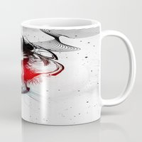 women Mugs featuring women by  MuDi