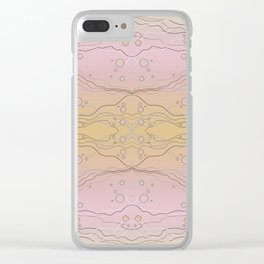 Abstract Water Alternate Color Clear iPhone Case