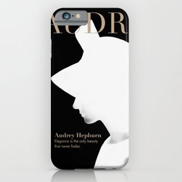 Audrey Hepburn Cover iPhone Case