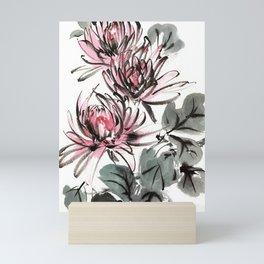 Chrysanthemums Mini Art Print