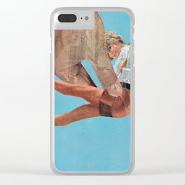 Beam me up Scotty 2 Clear iPhone Case